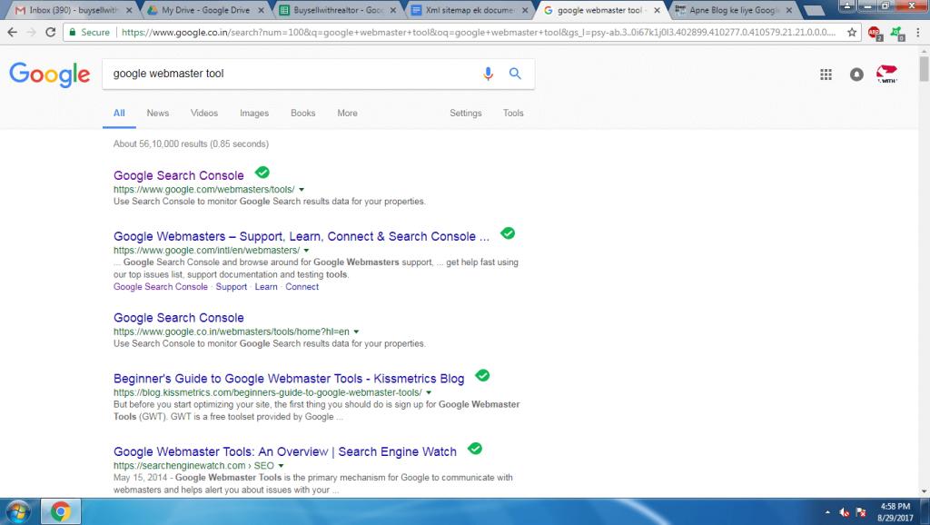 ace digitech blog ya website ke liye google sitemap kaise banaye